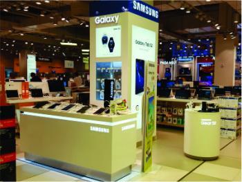 Mobiliario para categoría electro: Samsung