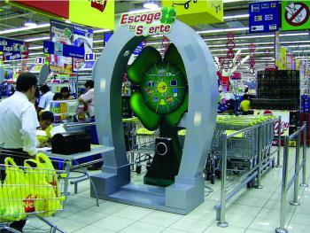 "Ruleta electrónica ""Escoge tu suerte"": Plaza Vea"