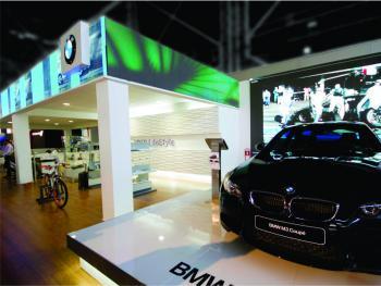 BMW: stand para Motorshow (1)