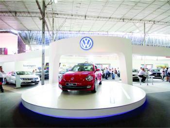 Volkswagen: stand para Motorshow